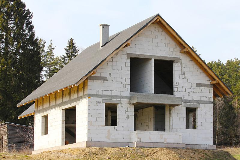 Проект дома из пеноблоков своими руками фото