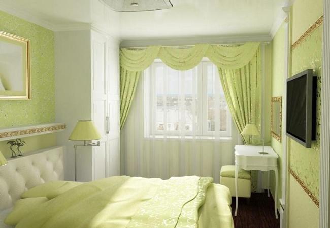 Советы по отделке маленькой спальни