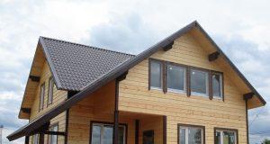 Преимущества строительства дома из клееного бруса