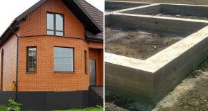Типы фундаментов под кирпичный дом