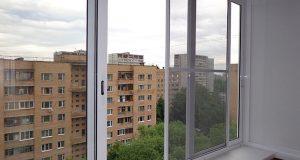 Холодное остекление балконов алюминиевым профилем