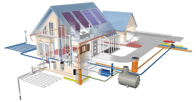 Водоснабжение и канализация современного частного дома