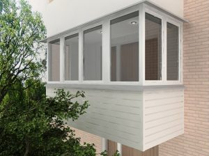 Преимущества остекления лоджий и балконов