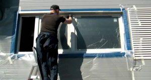 Как покрасить пластиковые окна