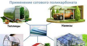 Применение поликарбоната