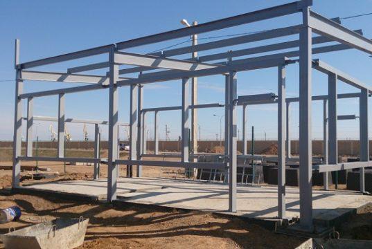 Строительство хозяйственного помещения