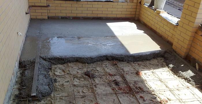Характеристики бетонного пола