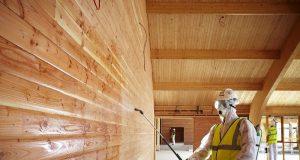 Защита деревянного дома от возгорания